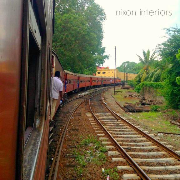 Riding the Lanka Line in Sri Lanka