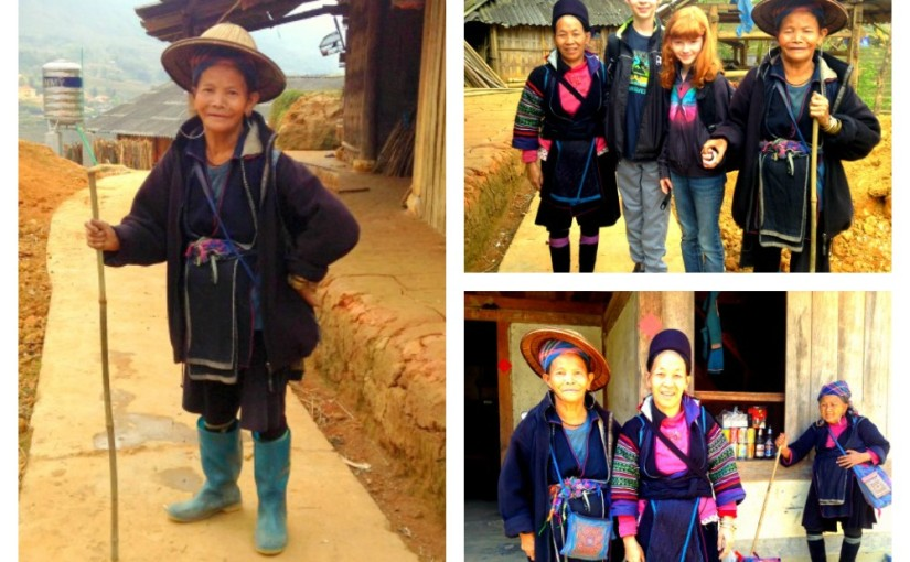"trekking with the H""Mong in Sapa, Vietnam"