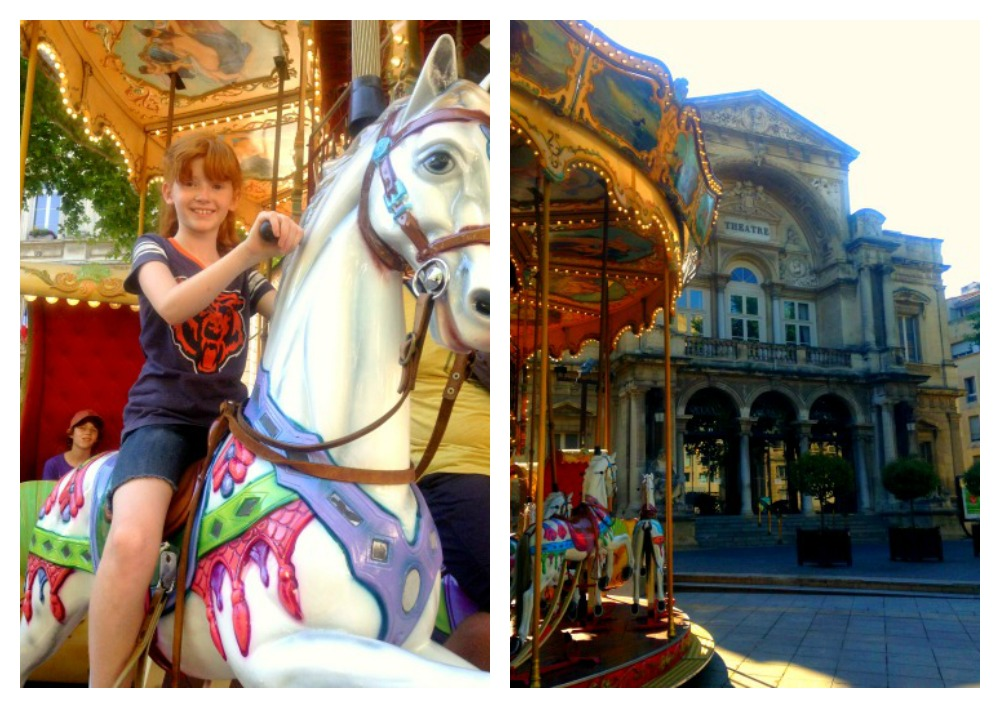 Riding the Avignon merry-go-round in France