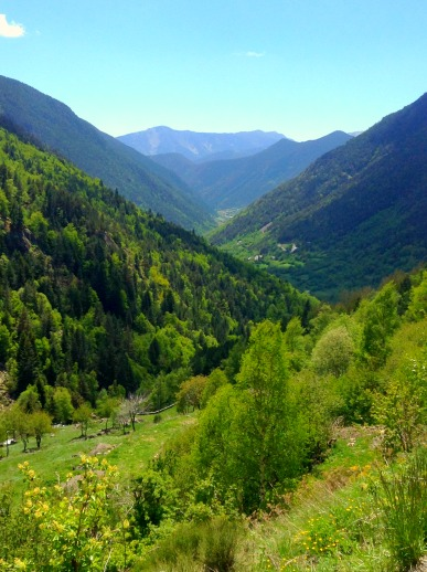 Pyrenees Mountains in Andorra