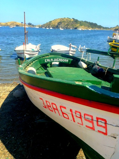 boats in Cadaquez, Spain