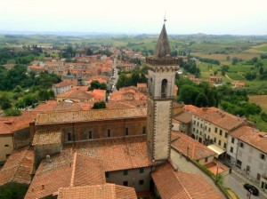 Small town of Vinci where Leonardo was baptised and home to the Vinci Museum
