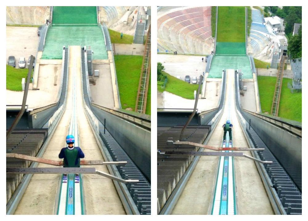 Bergisel or Innsbruck Olympic Ski Jump in Austria