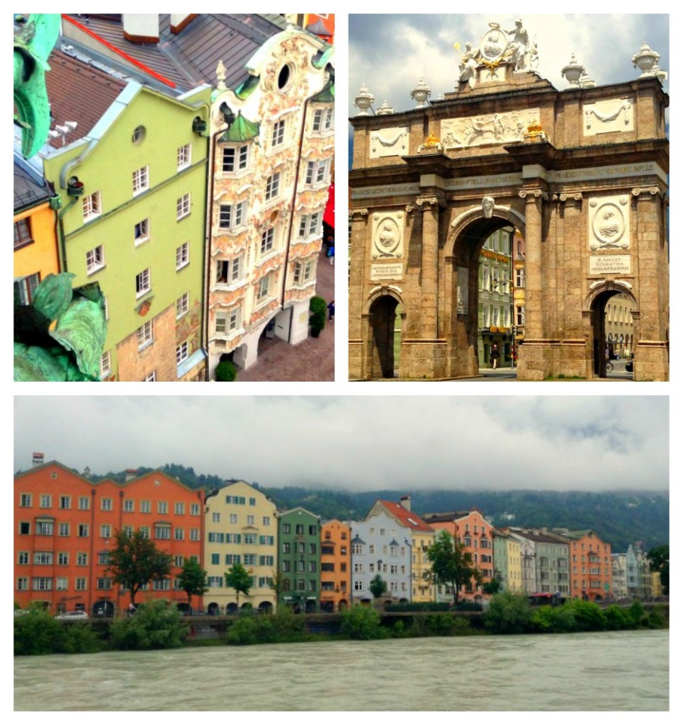 Pictures of the sites around Innsbruck, Austria