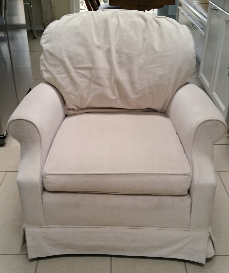 Barrymore Canterbury Chair is soft vanilla colour