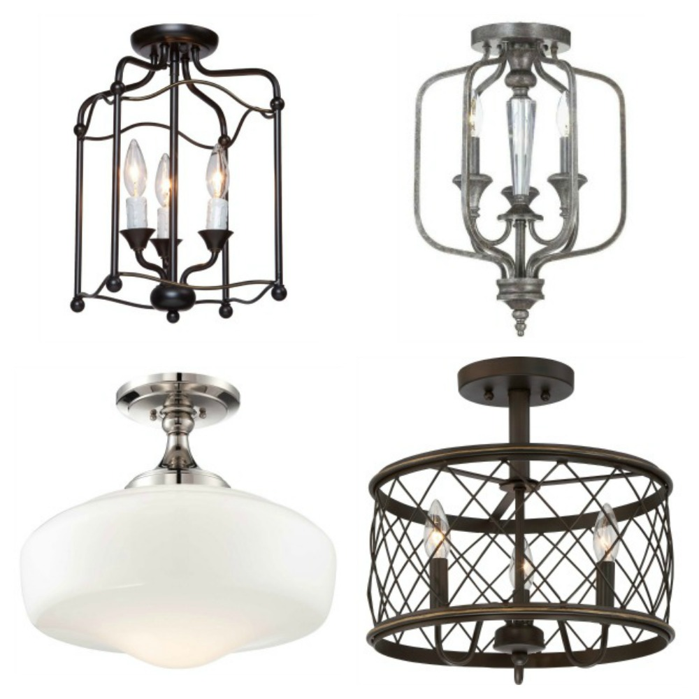 Carriage home light fixtures