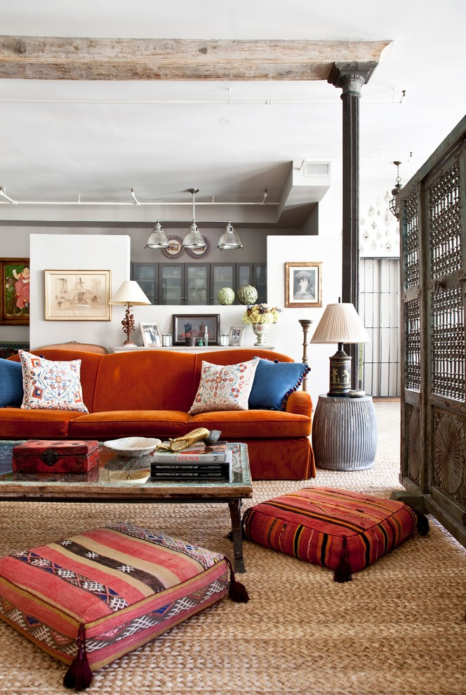 floor-cusions-work-extremlely-well-in-eclectic-living-rooms