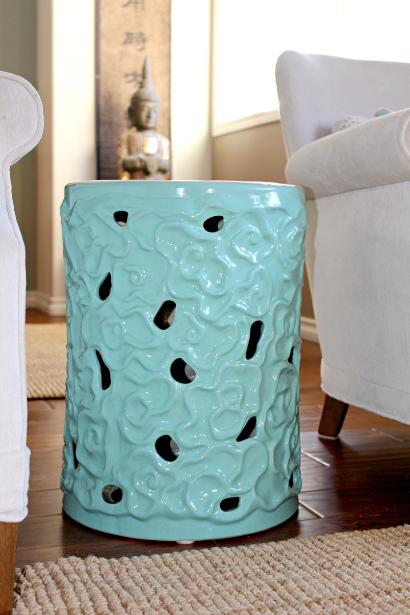 Chinese ceramic stool
