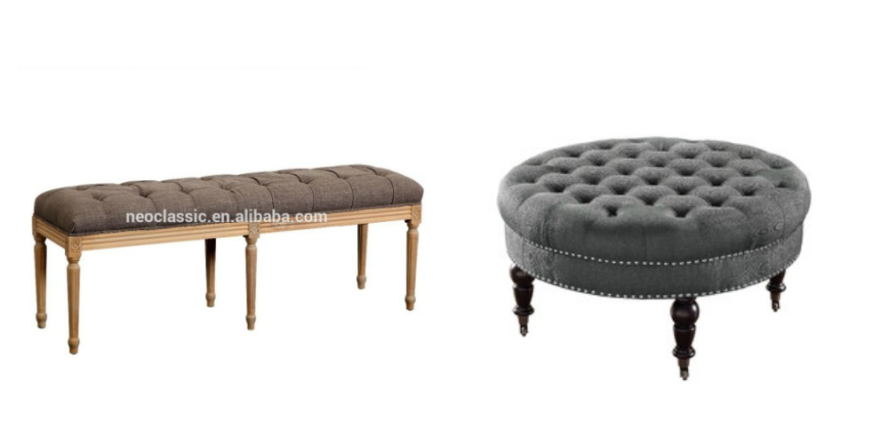 traditional Parisian inspired ottoman styles